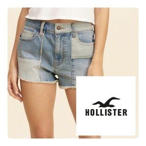 Hollister Vintage Patchwork Shorts